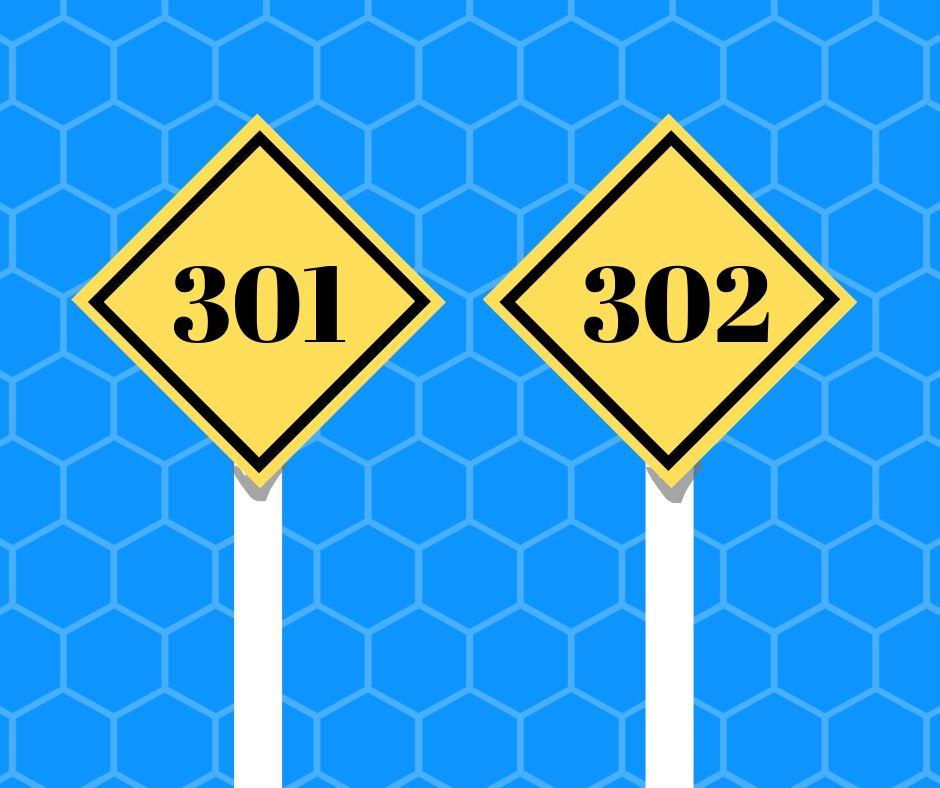 preusmeravanja 301 i 302
